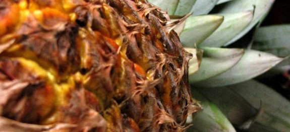 Pineapple (Annasi) is one of our topical fruits.This is a sweet and sour fruit.