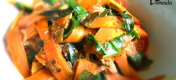 Carrot and Spinach Tempered