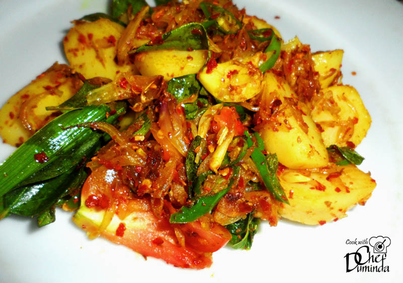 Potatoes archives sri lankan food recipes potato tempered recipe forumfinder Gallery