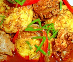 Chicken and Potato Ball Curry