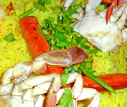 Seafood and Sausages Rice