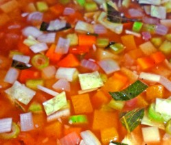 Tamarind Vegetable Broth